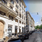 Roma Piazza Cavour Locale C/1 Tre Vetrine - Più Sottostante Locale C/2